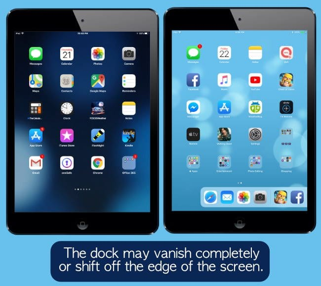 What does the Disappearing iPad Dock Look Like?