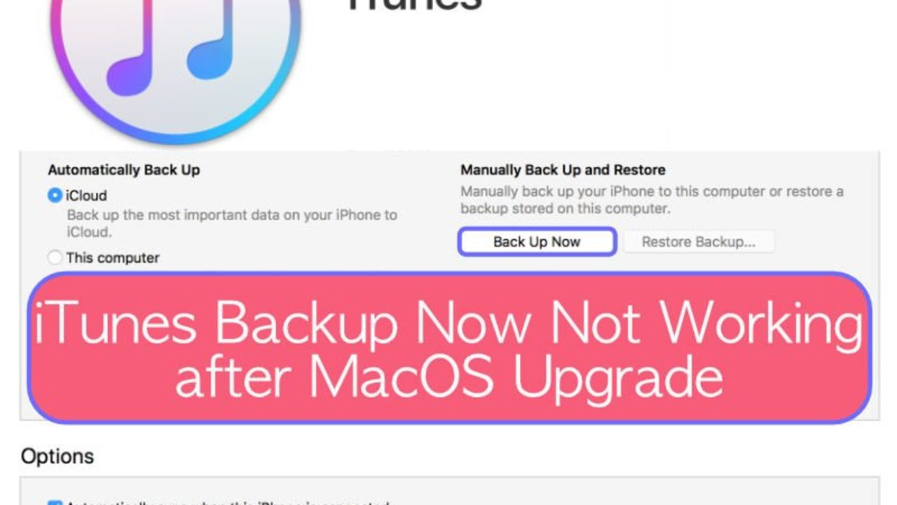 How to Backup an iPhone to External Hard Drive with Mac OS X ...