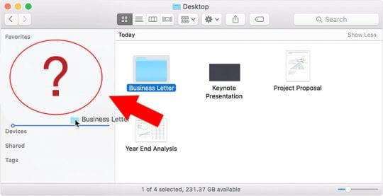 How to Fix Missing Favorites in MacBook, Missing Favorites Section in the Mac Finder Sidebar