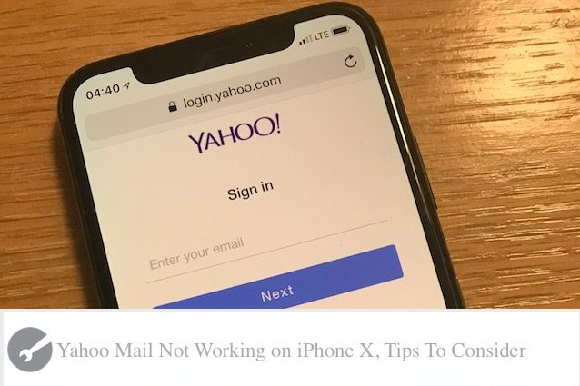 iphone mail not updating yahoo mail not updating on iphone x xs xr tips to 8886