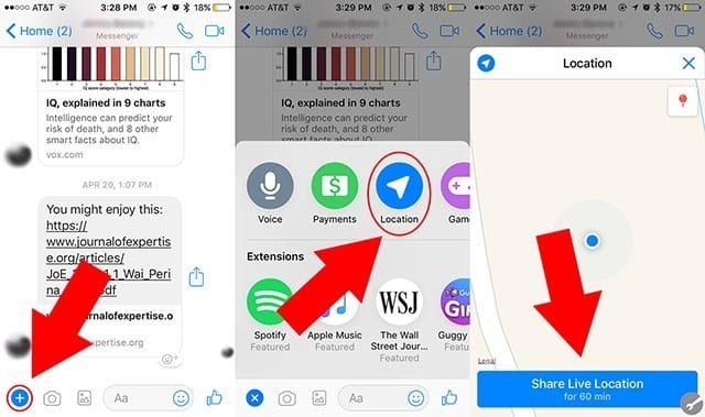 How To Share Your iPhone's Location With Your Android
