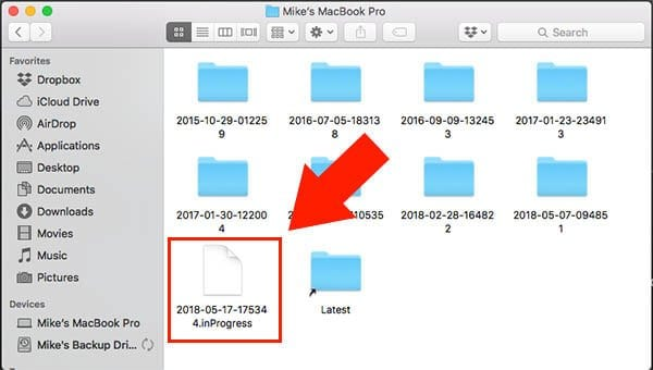 How to Fix Time Machine When it Freezes on 'Preparing Backup