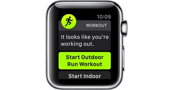 Auto Workout Detection Apple Watch