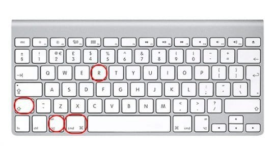 Reinstall OS Keyboard Shortcut
