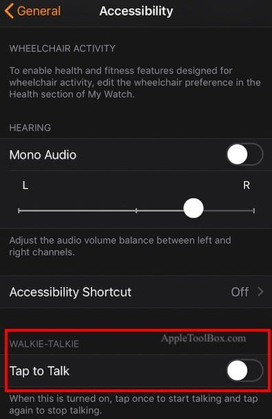 Apple Watch Walkie-Talkie Not Working, How-To Fix - AppleToolBox