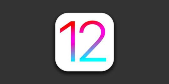 iOS 12 icon and symbol in tile