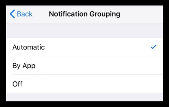 Group Notifications Not Working in iOS 12? How-To Fix