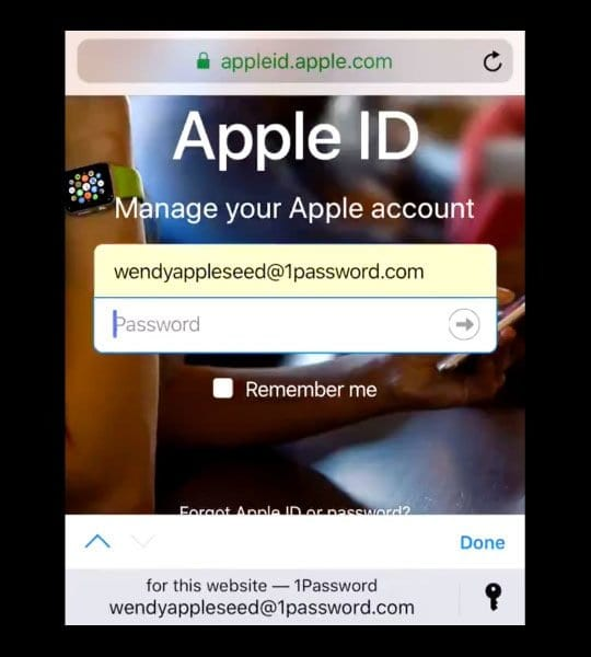 Third Party Password Manager Integration with iCloud Keychain iOS 12