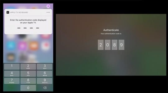 Authenticate Apple ID with code for tvOS and iOS 12 Password Autofill