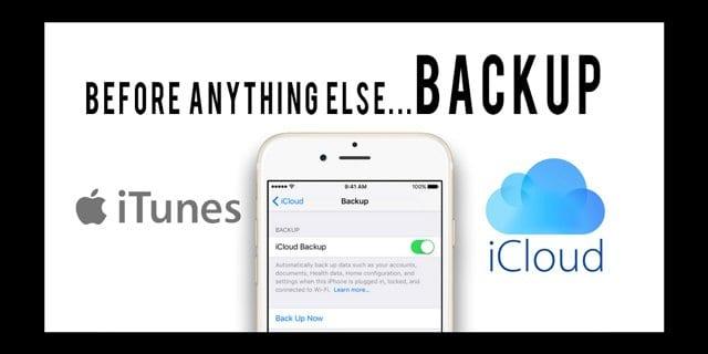 Backups: iTunes vs iCloud, How to choose? - AppleToolBox