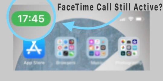 FaceTime Call Not Hanging Up