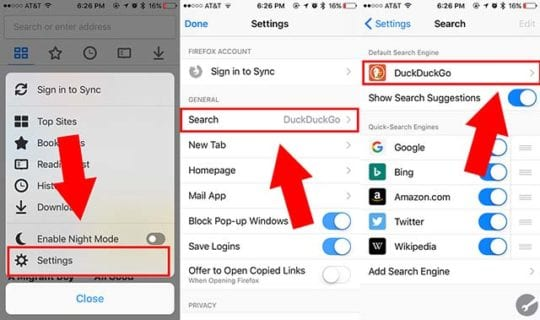 How to Change Default Search Engine to DuckDuckGo on iOS and