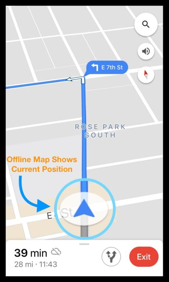 How-To Download Offline Maps & Routes in Google Maps iPhone App