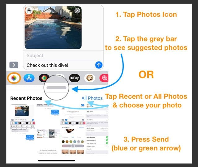 How to Access Your Photos in Messages iOS 12