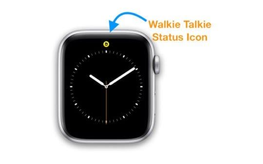 status icon for walkie talkie