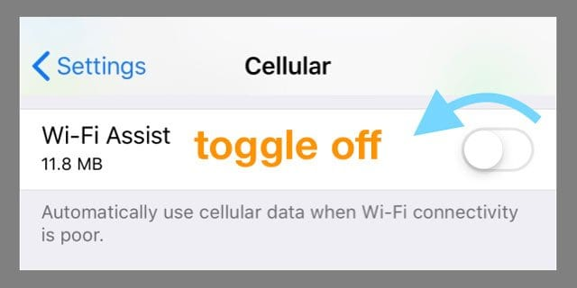 How to control & limit cellular data use on your iPhone or iPad