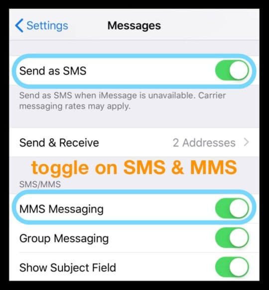 Try These How To Activate Imessage With My Phone Number