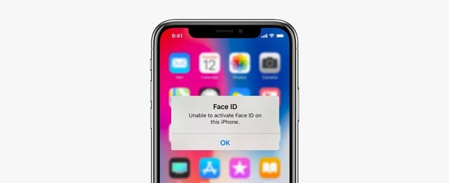 iPhone can't activate Face ID