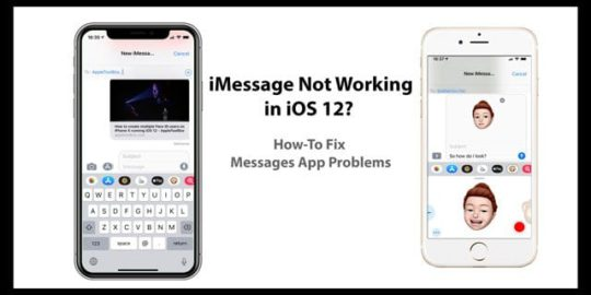 Fix iMessage Problems in iOS 12