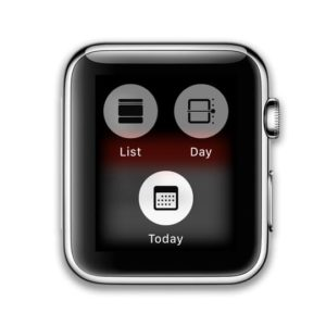 calendar display modes for watchOS 5 Apple Watch
