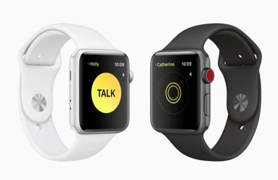 Apple Watch Walkie Talkie watchOS 5