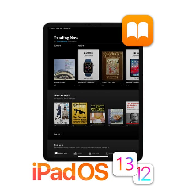 How to use Books in iOS 13 & 12 and iPadOS, essential tips
