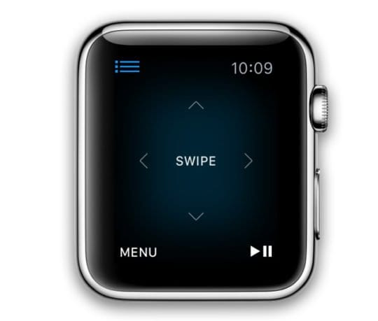 apple watch controls apple tv