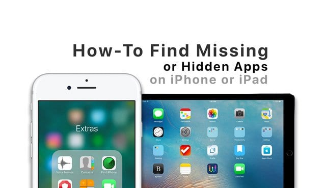 Locate Your iPhone's Missing or Hidden Apps