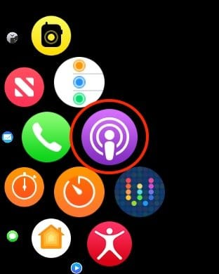 Setup and Play Podcasts on Apple Watch