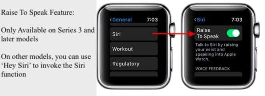 How To Use Raise to Speak on Apple Watch