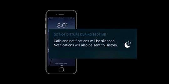 change bedtime alarm sound ios 13