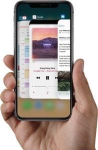iOS 12 iPhone X App Closing