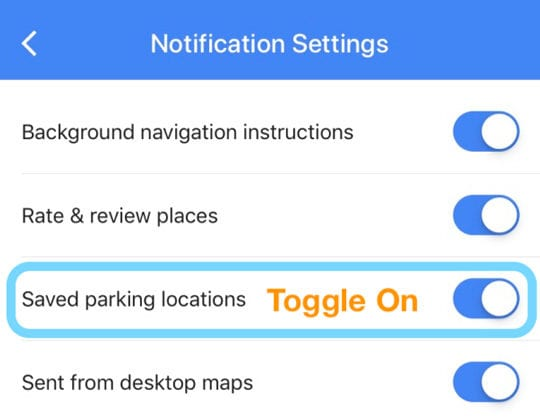 How to Use Google Maps Parked Car Features for iPhone - AppleToolBox