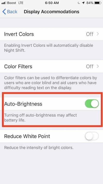 iPhone XS Display dark or dim, How-To Fix
