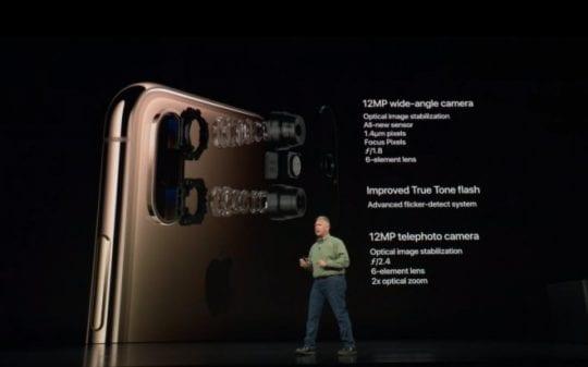iPhone XS Camera Hardware