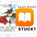 Apple Books or iBooks Stuck On Cover Page or Other Page? How To Fix