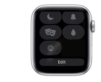 Edit Apple Watch Control Center