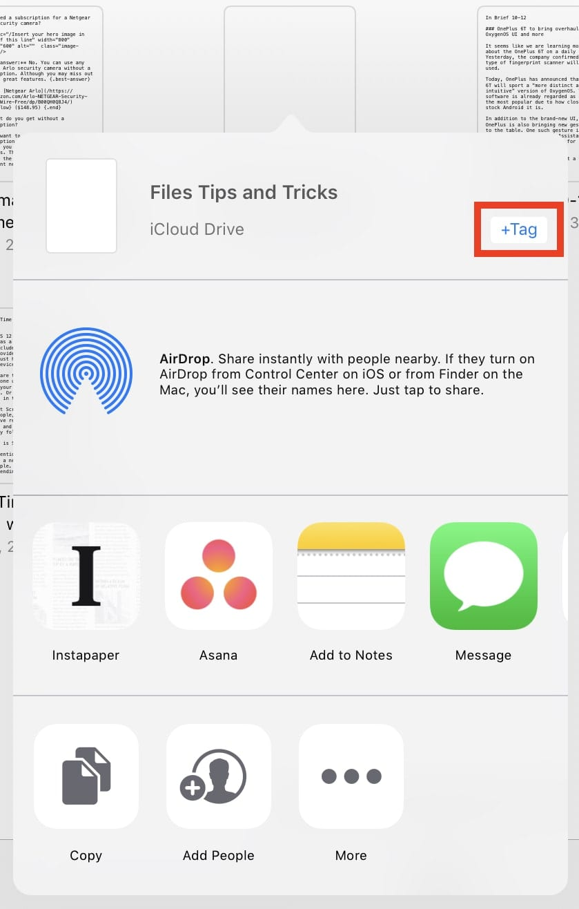 iOS Files App on Your iPad, The Best Tips and Tricks