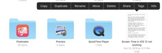 Files App Extra menu-min