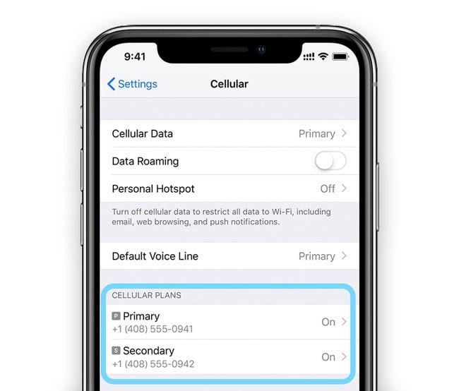 How To Use Dual SIM and eSIM on iPhone XR and XS - AppleToolBox