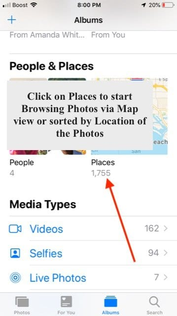 How to Find Nearby Photos in iOS 12