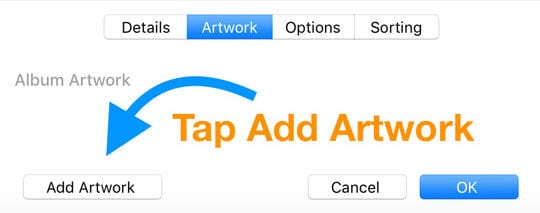 add your own artwork to songs and albums in iTunes