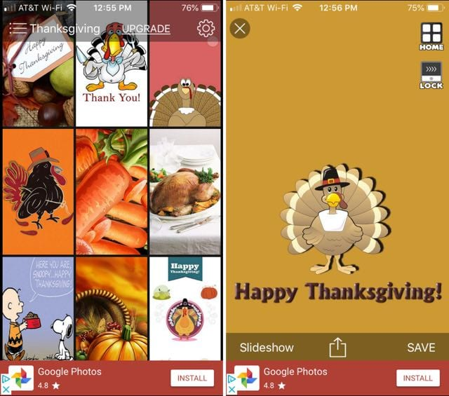 Thanksgiving Wallpapers & Thanksgiving Backgrounds iPhone