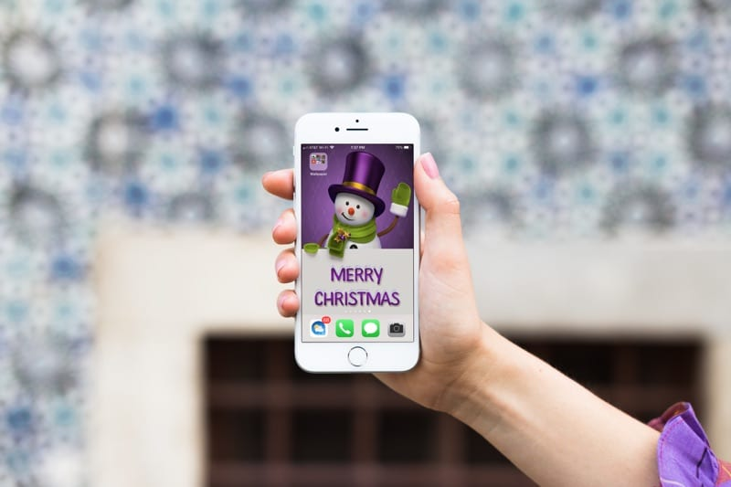 Decorate Your Iphone Or Ipad With Christmas And New Year S