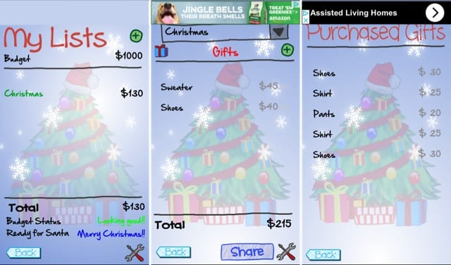 prepare for the holidays with 5 festive gift list apps appletoolbox