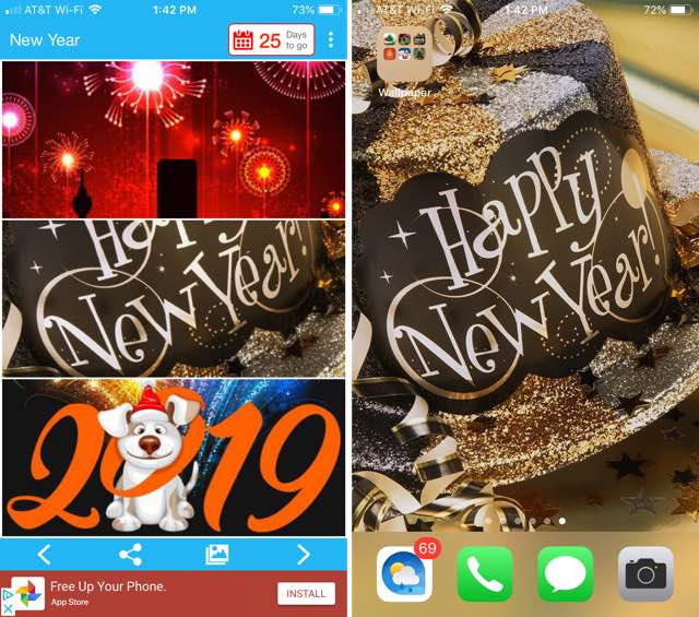New Year Wallpapers FHD iPhone