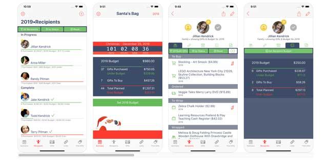 2019 santas bag app