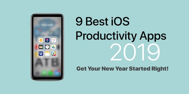 iOS productivity apps for 2019