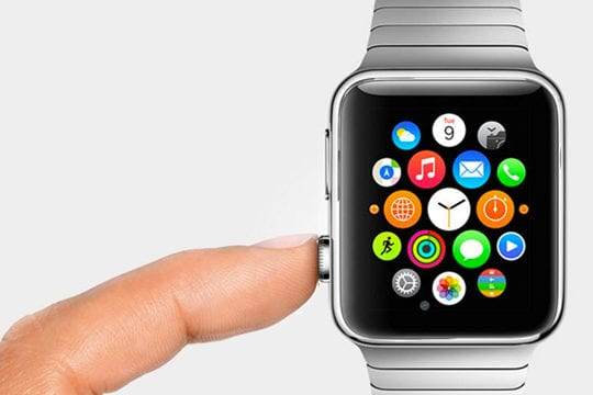 Apple Watch Crown to check Message arrival time