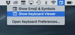 Mac Virtual Keyboard